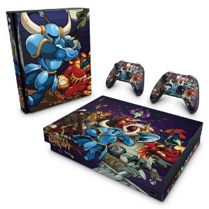 Xbox One X Skin - Shovel Knight