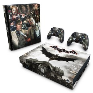 Xbox One X Skin - Batman Arkham Knight
