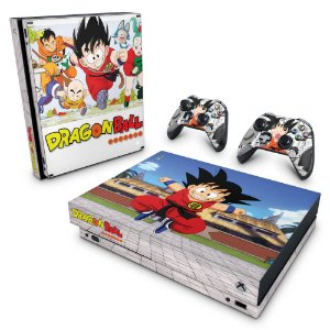 Xbox One X Skin - Dragon Ball Clássico
