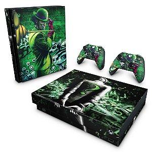 Xbox One X Skin - Charada Batman