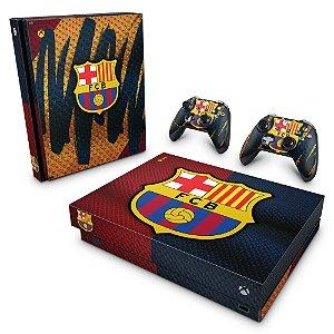 Xbox One X Skin - Barcelona