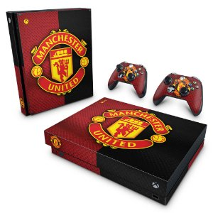 Xbox One X Skin - Manchester United