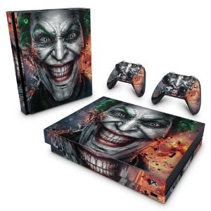 Xbox One X Skin - Coringa - Joker #A