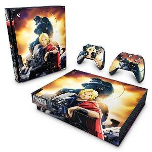 Xbox One X Skin - Fullmetal Alchemist: Brotherhood