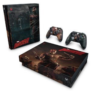 Xbox One X Skin - Daredevil Demolidor