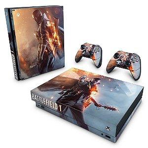 Xbox One X Skin - Battlefield 1