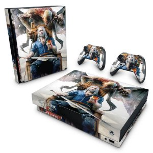 Xbox One X Skin - The Witcher 3 Blood And Wine