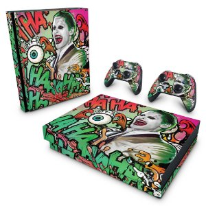 Xbox One X Skin - Esquadrão Suicida #B