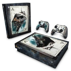 Xbox One X Skin - Batman Return to Arkham