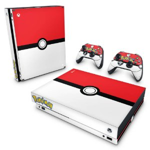 Xbox One X Skin - Pokemon Pokebola