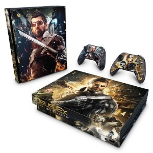 Xbox One X Skin - Deus Ex: Mankind Divided