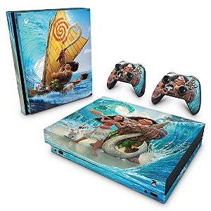 Xbox One X Skin - Disney Moana