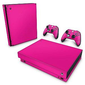 Xbox One X Skin - Rosa Pink