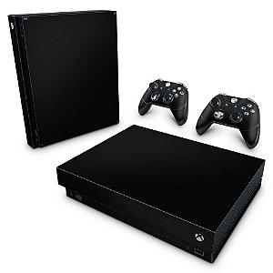 Xbox One X Skin - Preto Black Piano