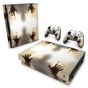 Xbox One X Skin - Fear The Walking Dead