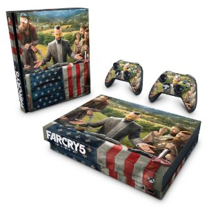 Xbox One X Skin - Far Cry 5