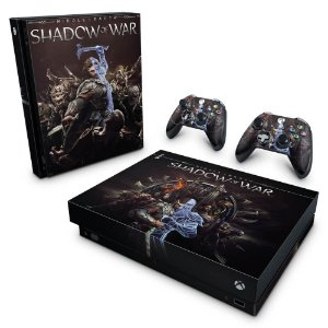 Xbox One X Skin - Shadow of War