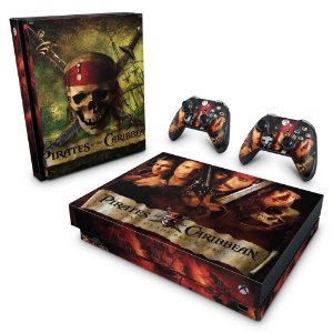 Xbox One X Skin - Piratas do Caribe