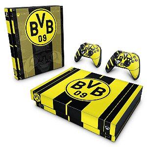 Xbox One X Skin - Borussia Dortmund BVB 09