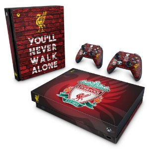 Xbox One X Skin - Liverpool