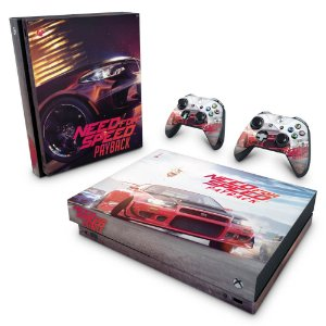 Xbox One X Skin - Need For Speed Payback
