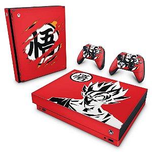 Xbox One X Skin - Dragon Ball Goku Kaiô