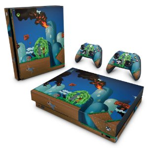 Xbox One X Skin - Rick And Morty Mario