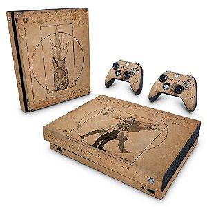 Xbox One X Skin - Assassin's Creed Vitruviano