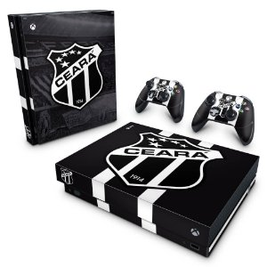 Xbox One X Skin - Ceará Sporting Club