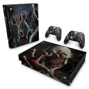 Xbox One X Skin - Zombie Zumbi The Walking
