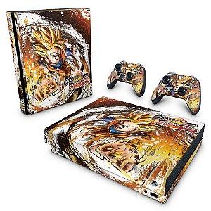 Xbox One X Skin - Dragon Ball FighterZ
