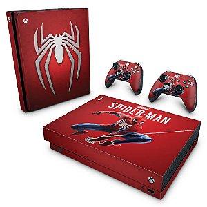 Xbox One X Skin - Homem Aranha Spider-man