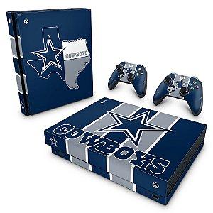 Xbox One X Skin - Dallas Cowboys NFL