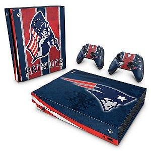 Xbox One X Skin - New England Patriots NFL