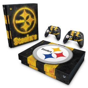 Xbox One X Skin - Pittsburgh Steelers - NFL
