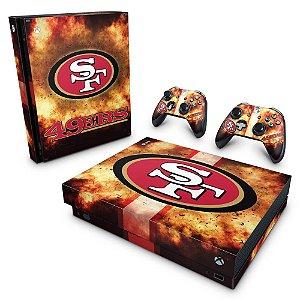 Xbox One X Skin - San Francisco 49ers - NFL