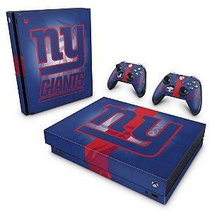 Xbox One X Skin - New York Giants - NFL