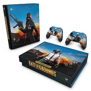 Xbox One X Skin - Players Unknown Battlegrounds PUBG