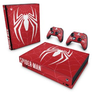 Xbox One X Skin - Spider-man Bundle