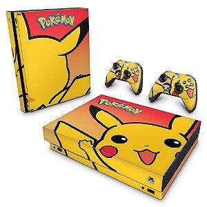 Xbox One X Skin - Pokemon Pikachu