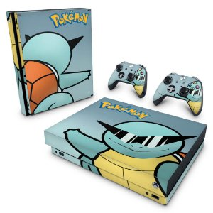 Xbox One X Skin - Pokemon Squirtle