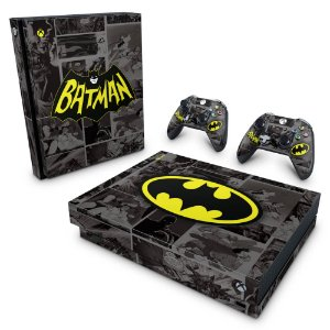 Xbox One X Skin - Batman Comics