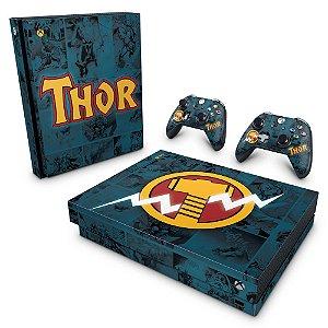 Xbox One X Skin - Thor Comics