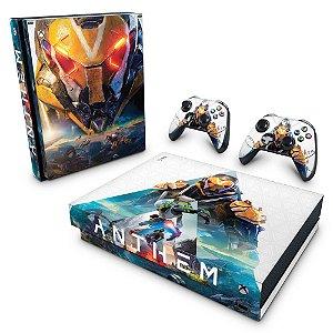 Xbox One X Skin - Anthem