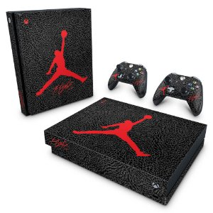 Xbox One X Skin - Air Jordan Flight