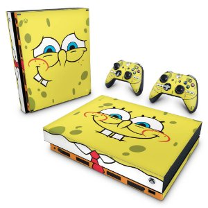Xbox One X Skin - Bob Esponja