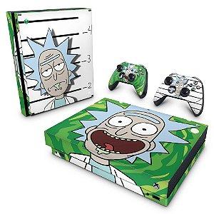 Xbox One X Skin - Rick Rick and Morty