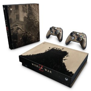 Xbox One X Skin - World War Z