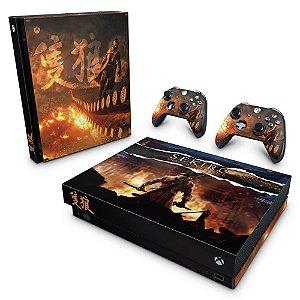 Xbox One X Skin - Sekiro