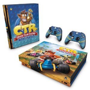 Xbox One X Skin - Crash Team Racing CTR